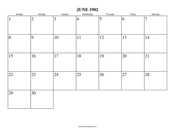 ... month: May 1902 | All 1902 Calendars | Calendars for other years