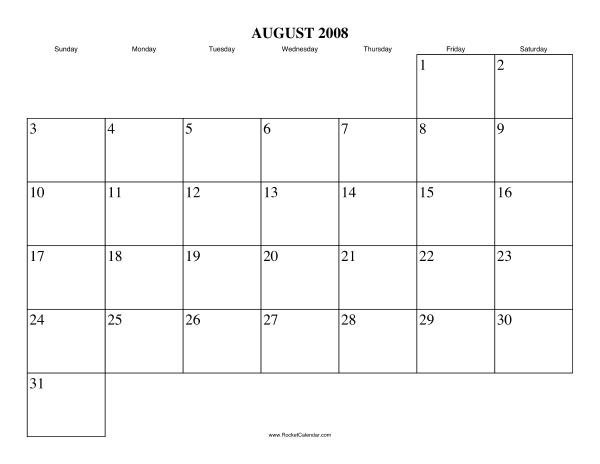 ... month: July 2008 | All 2008 Calendars | Calendars for other years